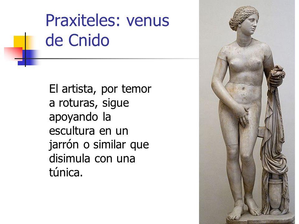 Praxiteles: venus de Cnido