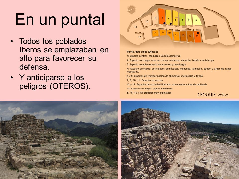 En un puntal Todos los poblados íberos se emplazaban en alto para favorecer su defensa. Y anticiparse a los peligros (OTEROS).
