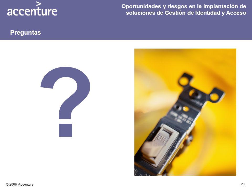 Oportunidades y riesgos en la implantación de soluciones de Gestión de Identidad y Acceso