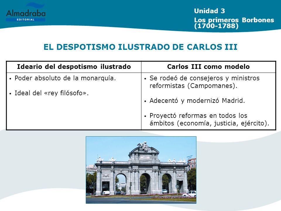 EL DESPOTISMO ILUSTRADO DE CARLOS III
