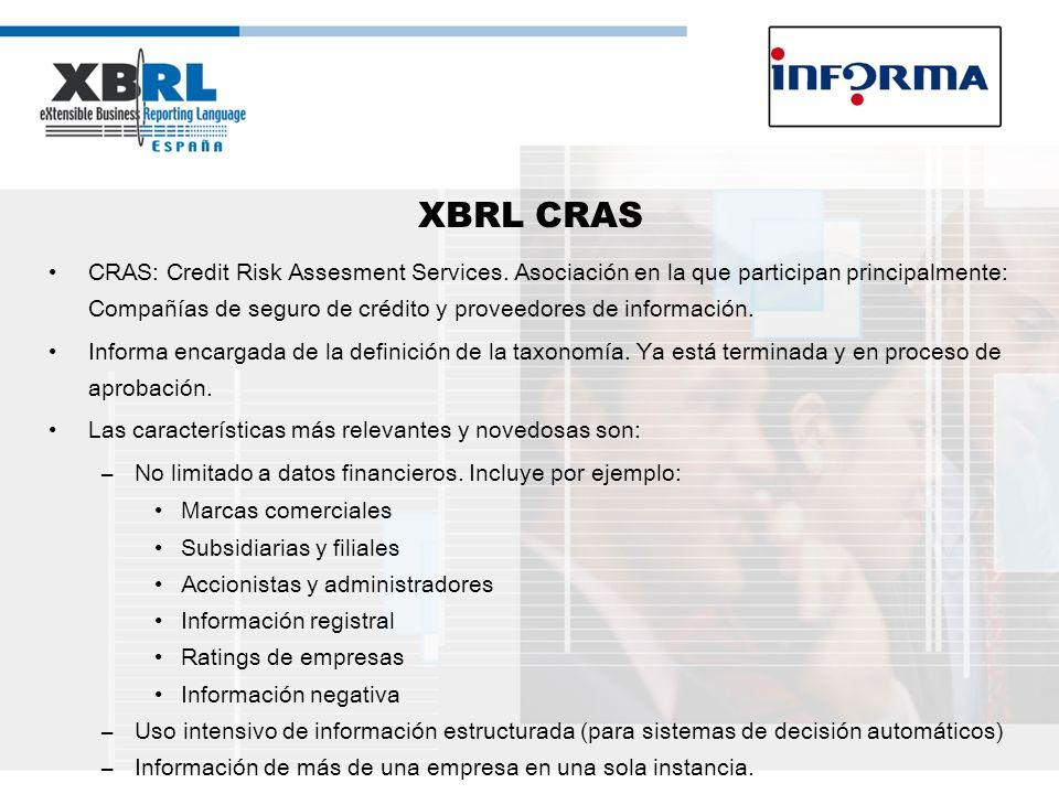 XBRL CRAS