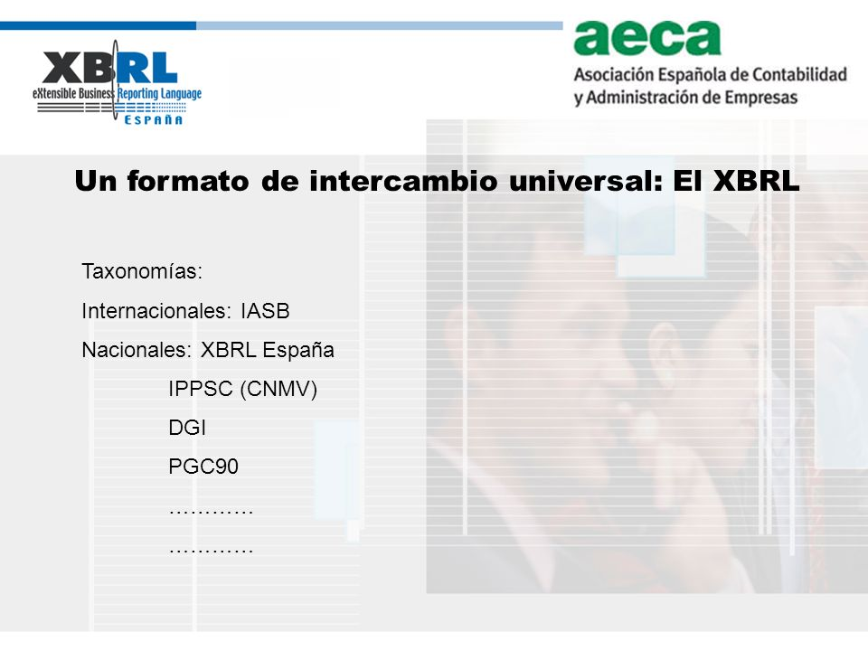 Un formato de intercambio universal: El XBRL