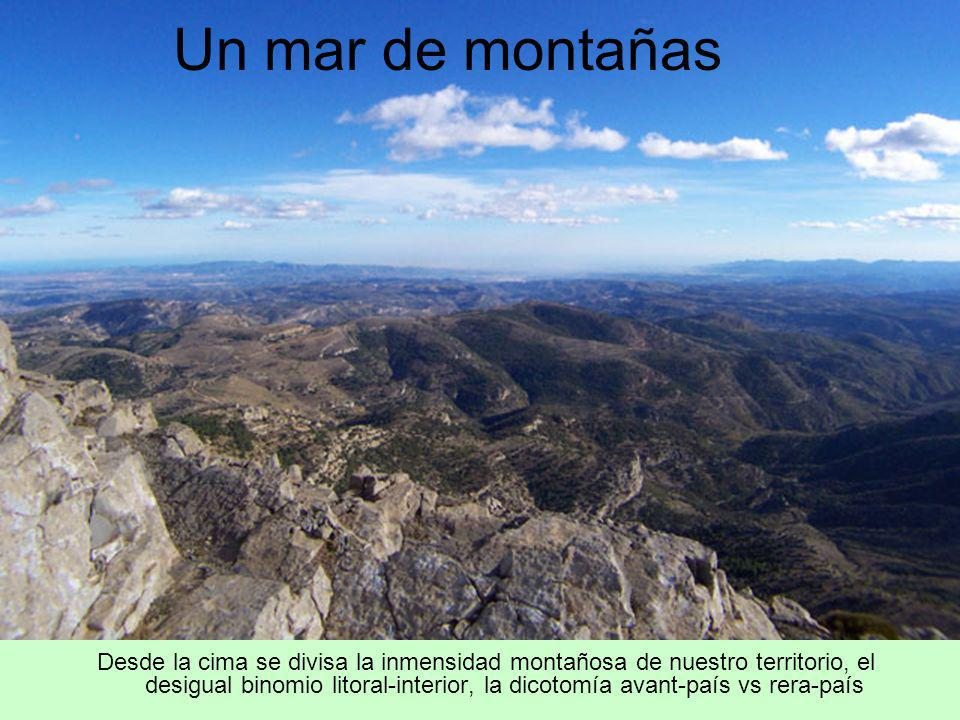 Un mar de montañas