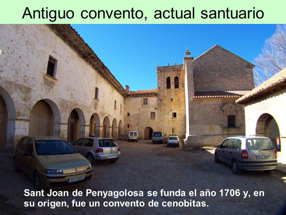 Antiguo convento, actual santuario