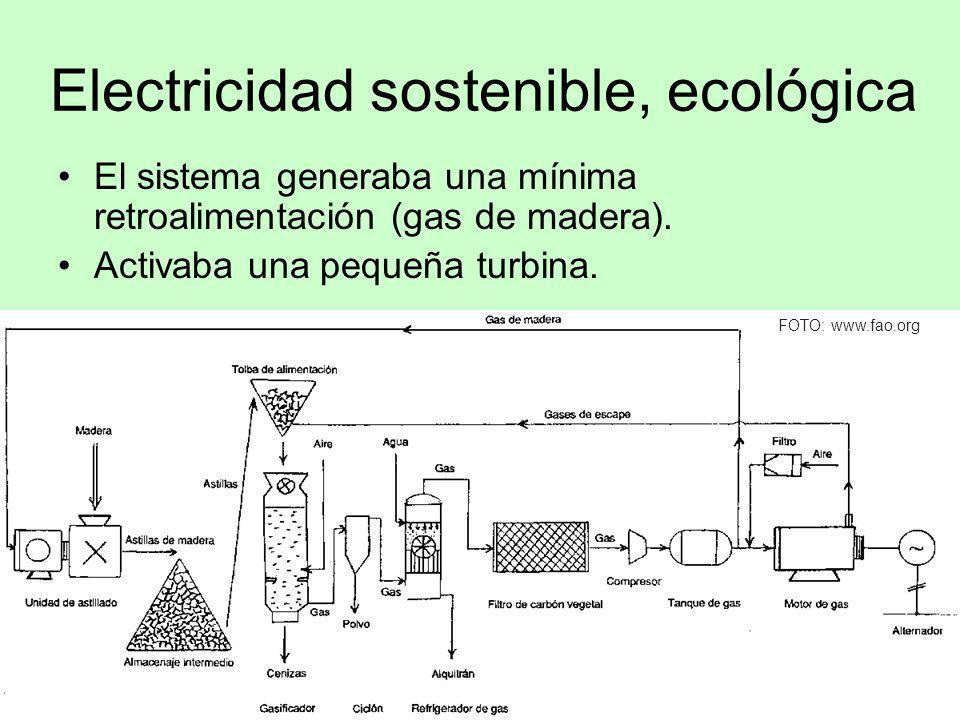 Electricidad sostenible, ecológica