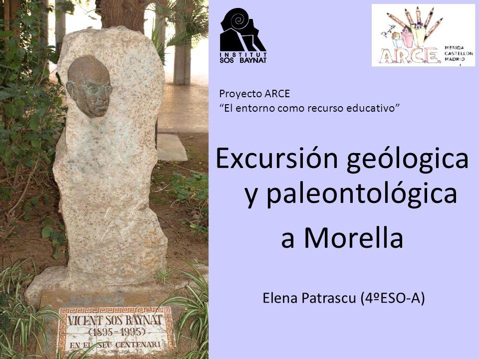Excursión geólogica y paleontológica a Morella