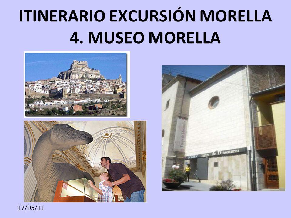 ITINERARIO EXCURSIÓN MORELLA 4. MUSEO MORELLA