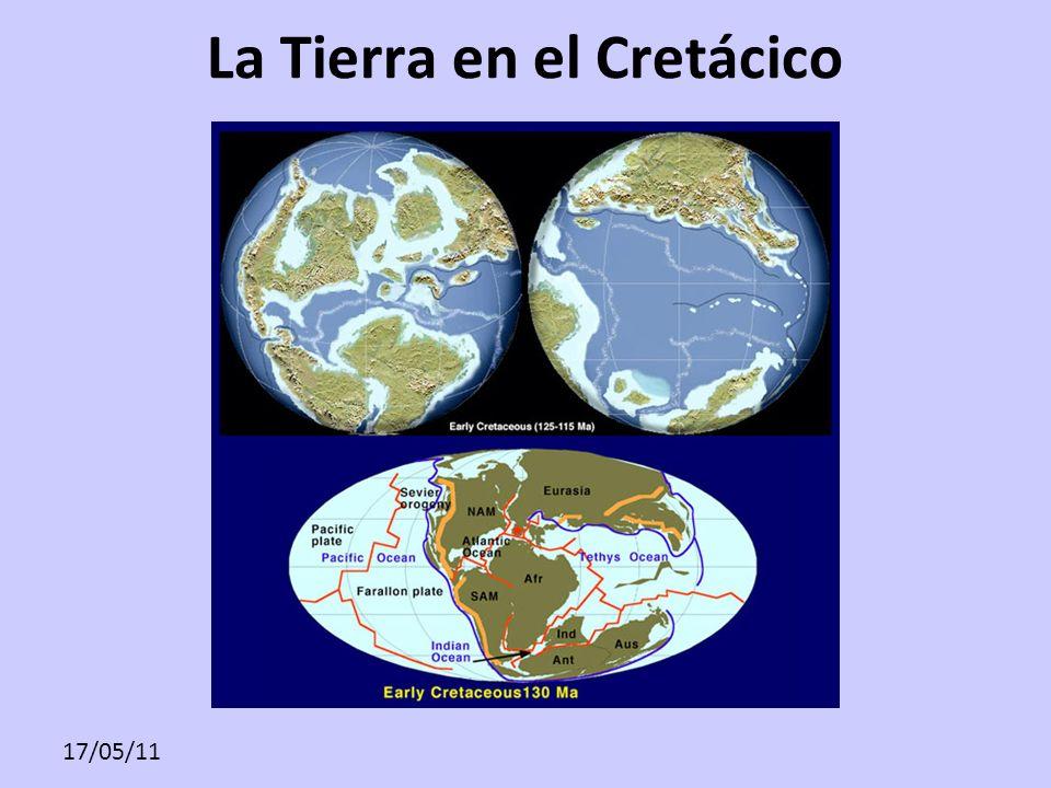 La Tierra en el Cretácico