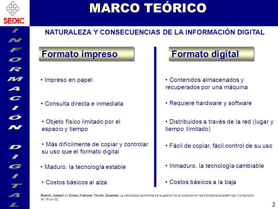 NATURALEZA Y CONSECUENCIAS DE LA INFORMACIÓN DIGITAL
