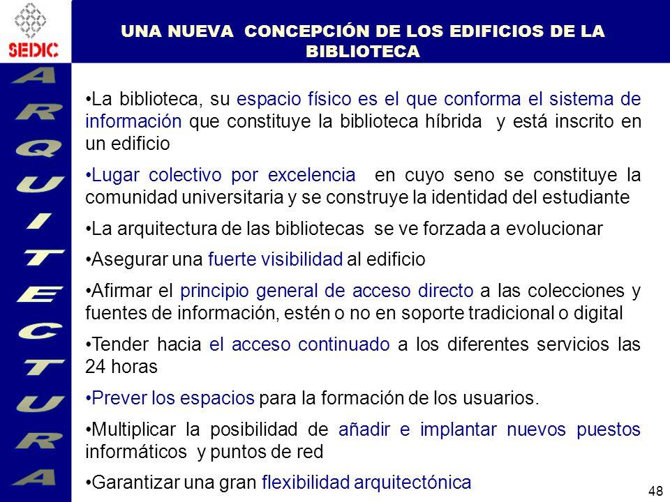 UNA NUEVA CONCEPCIÓN DE LOS EDIFICIOS DE LA BIBLIOTECA