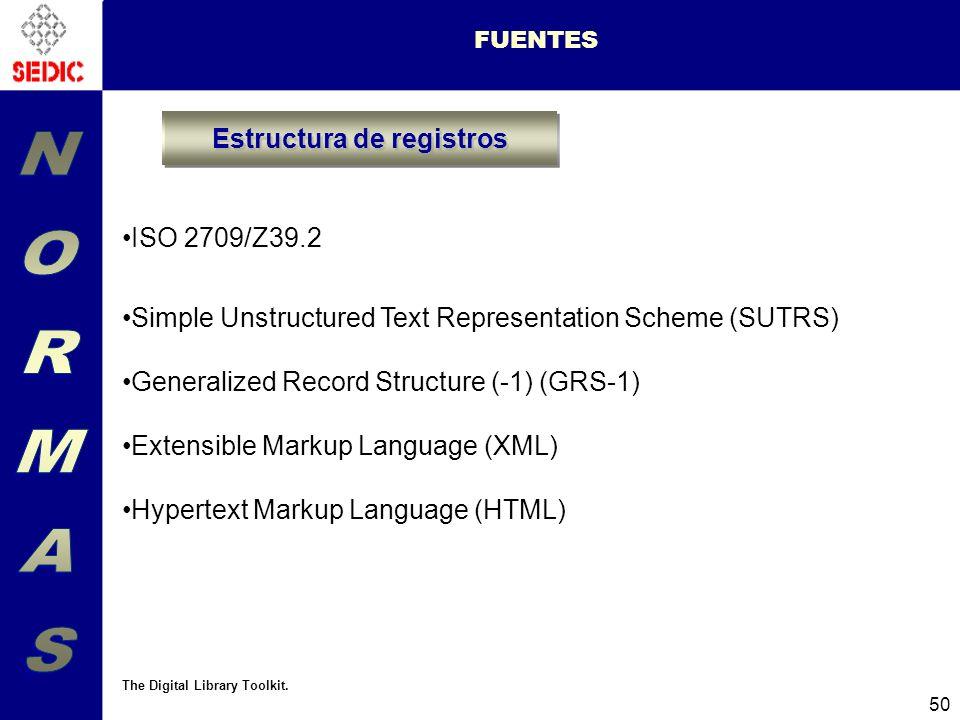 Estructura de registros