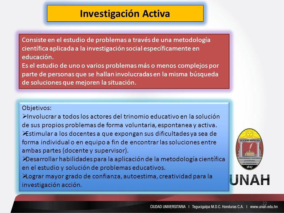 Investigación Activa