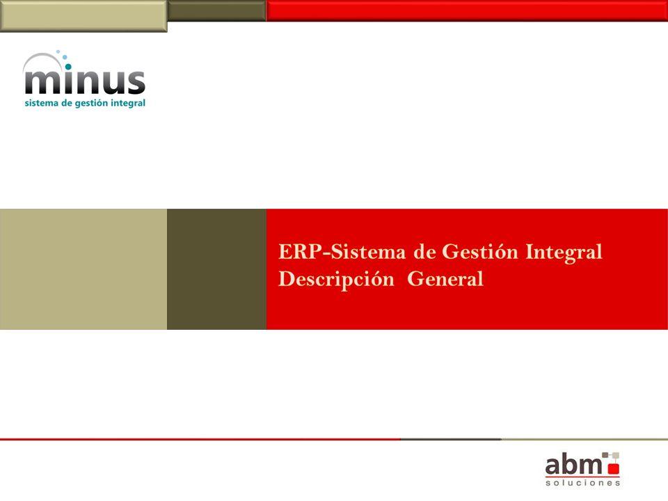 ERP-Sistema de Gestión Integral