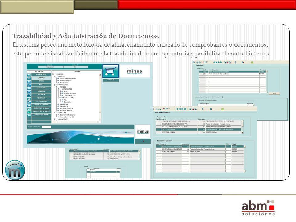 Trazabilidad y Administración de Documentos