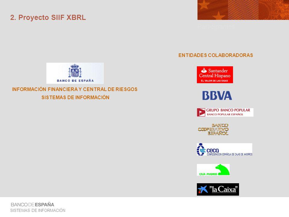 2. Proyecto SIIF XBRL Participantes ENTIDADES COLABORADORAS