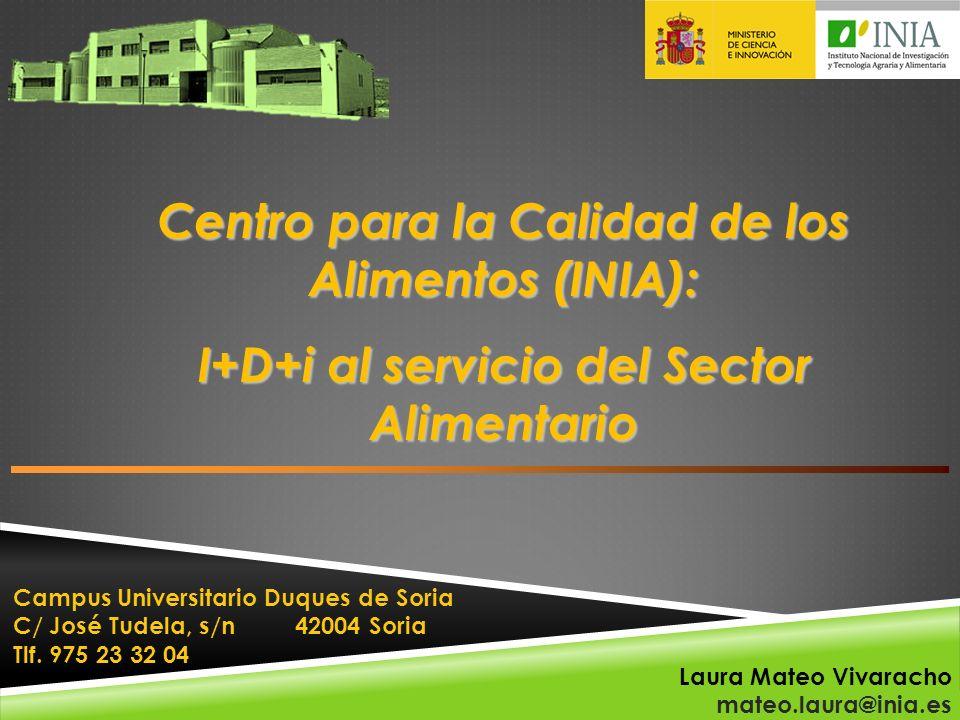 Centro para la Calidad de los Alimentos (INIA):