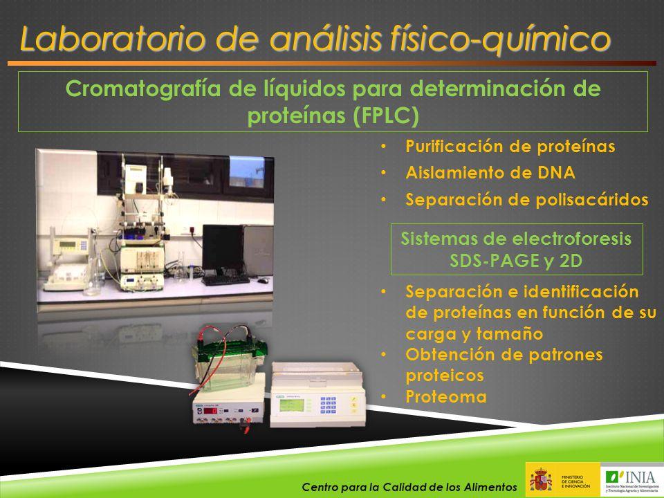 Laboratorio de análisis físico-químico