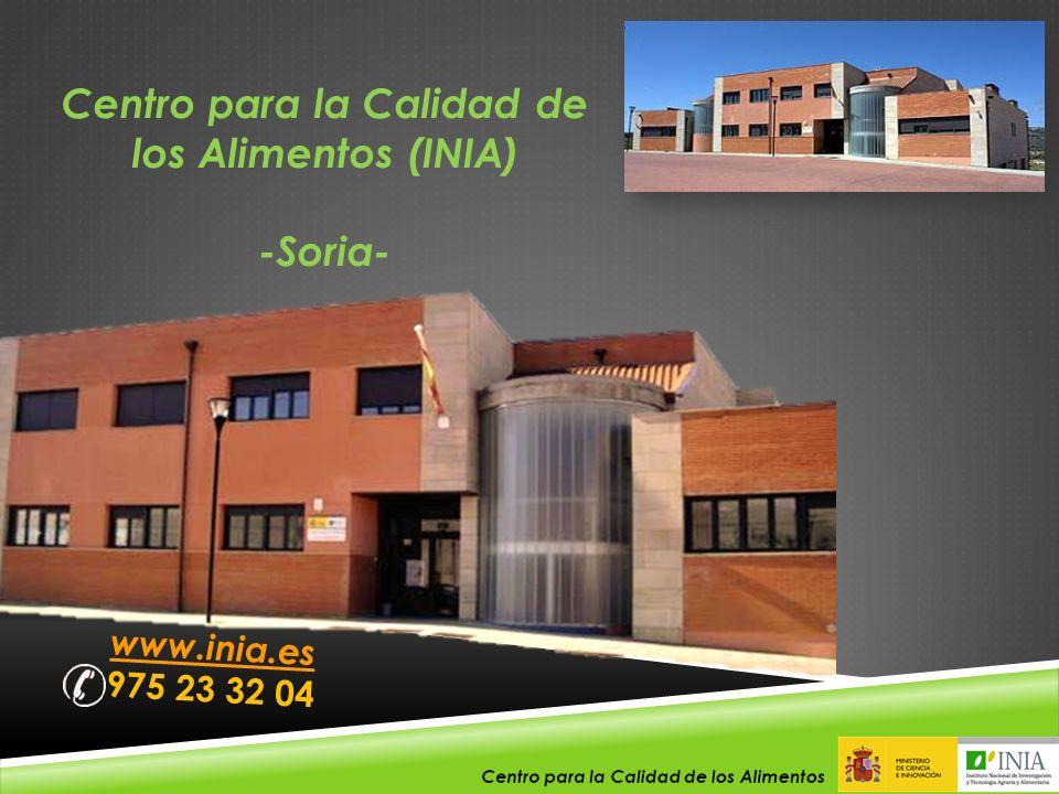 Centro para la Calidad de los Alimentos (INIA)