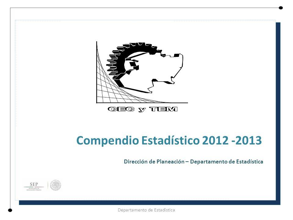 Compendio Estadístico 2012 -2013