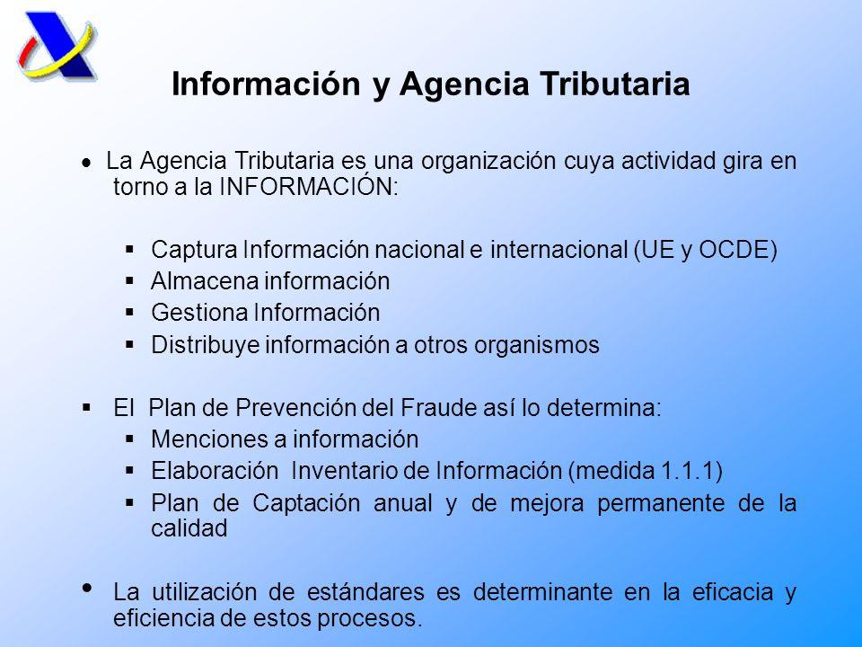 Información y Agencia Tributaria