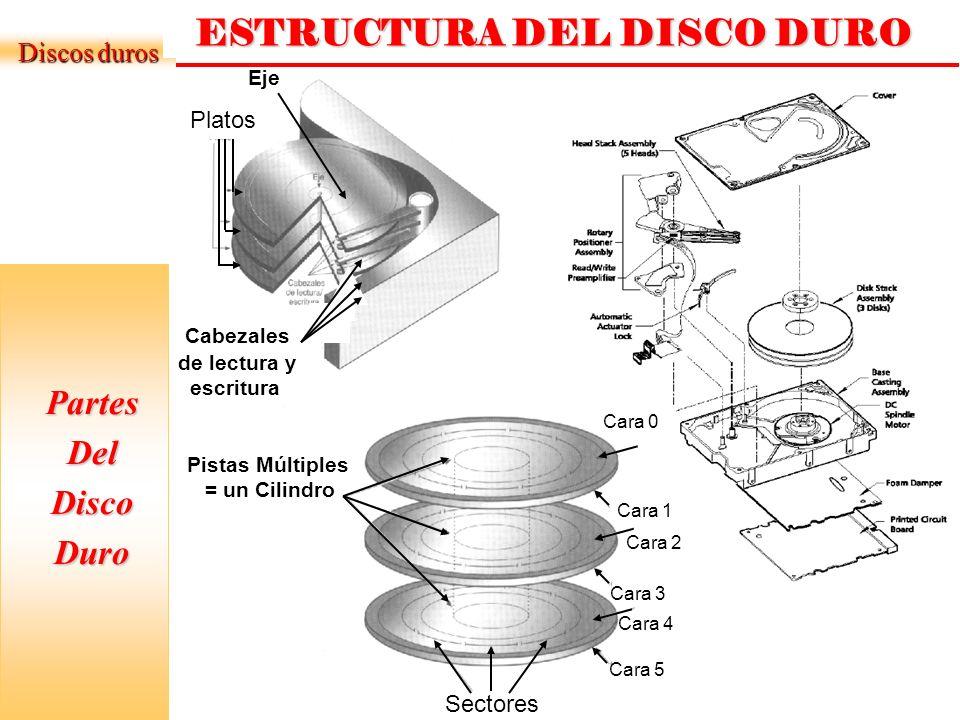 ESTRUCTURA DEL DISCO DURO