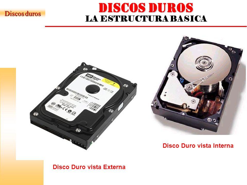 DISCOS DUROS LA ESTRUCTURA BASICA Discos duros