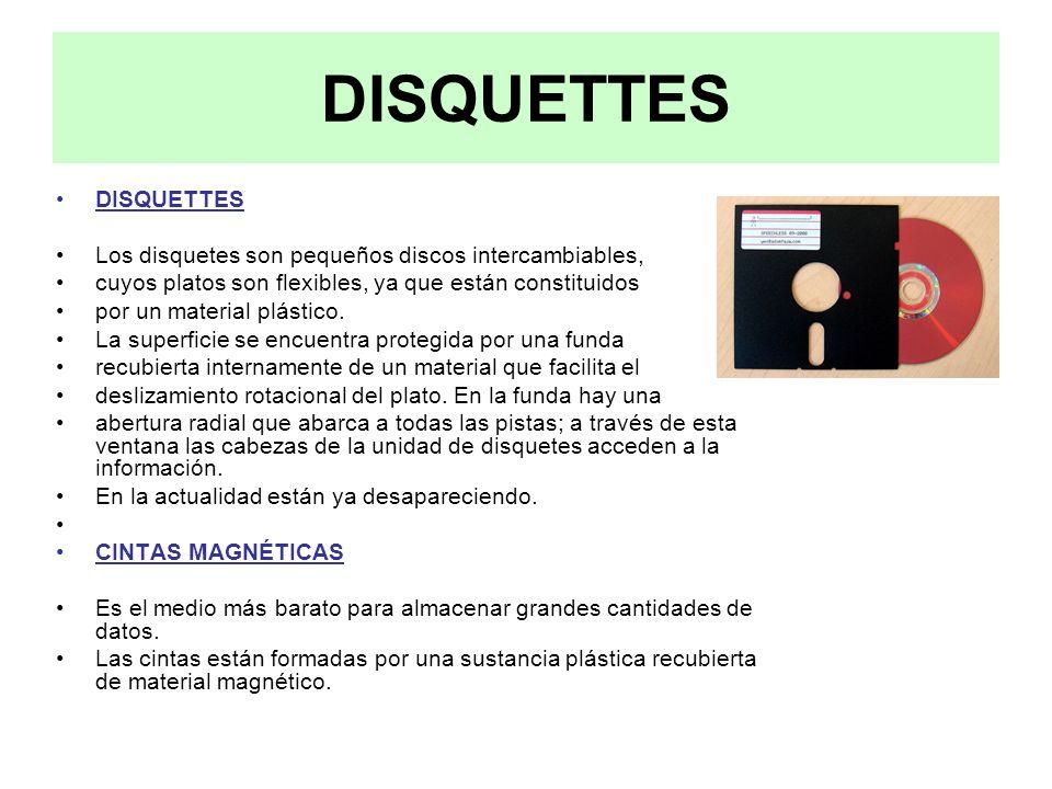 DISQUETTES DISQUETTES