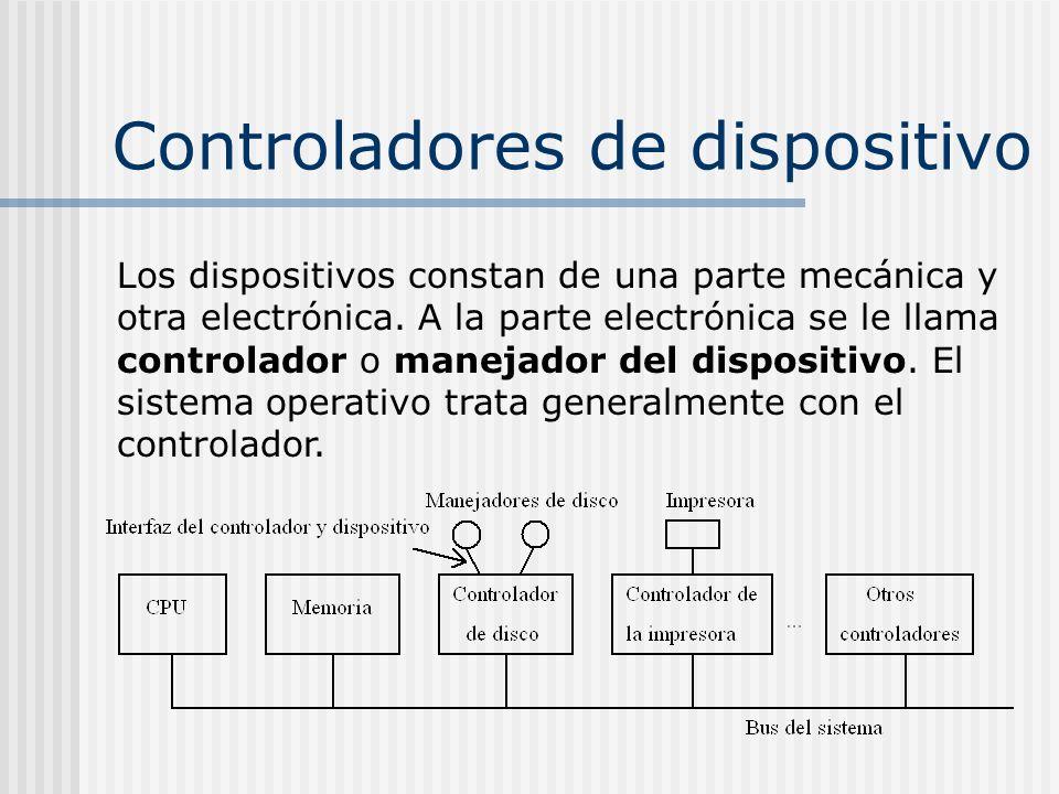 Controladores de dispositivo