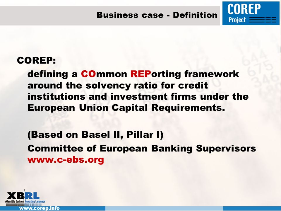 Business case - Definition