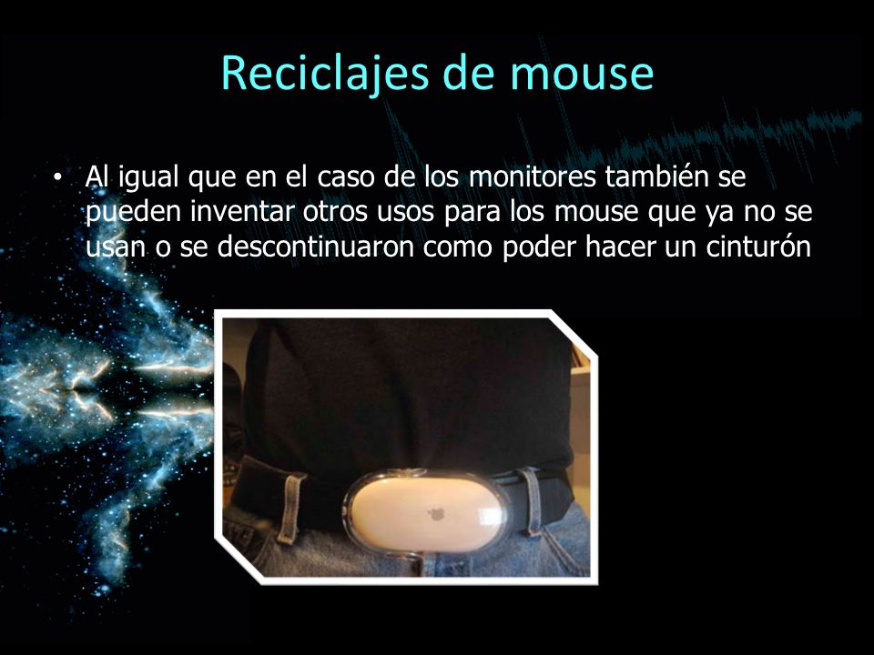 Reciclajes de mouse