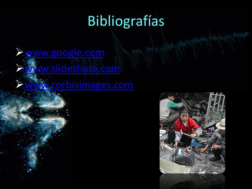 Bibliografías www.google.com www.slideshare.com www.corbisimages.com