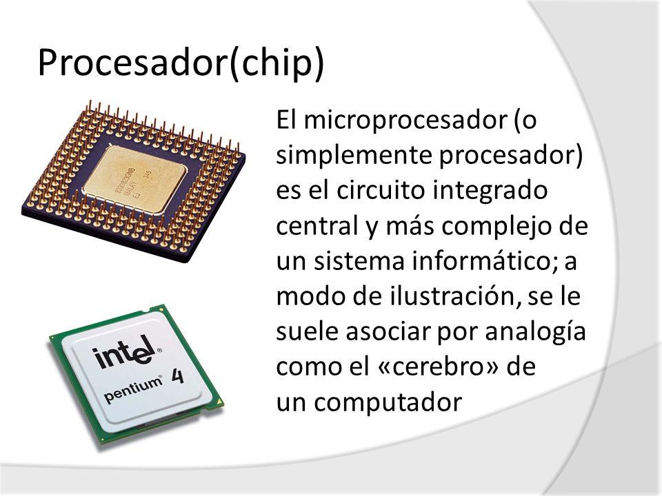 Procesador(chip)