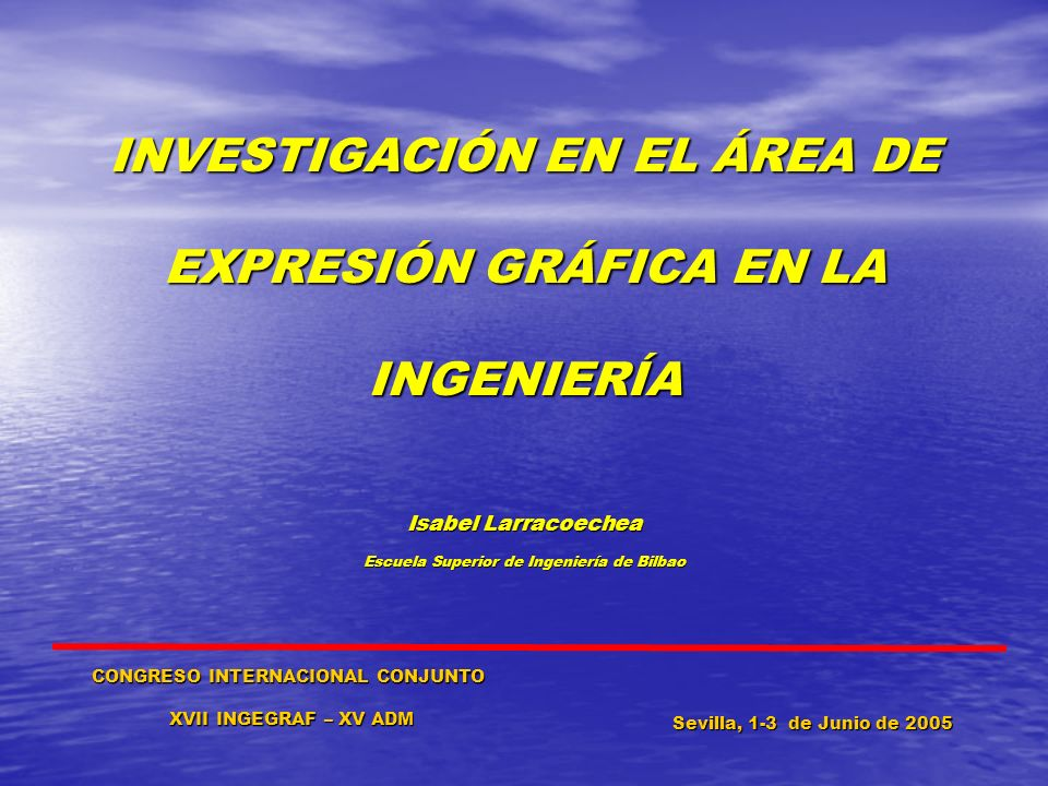 INVESTIGACIÓN EN EL ÁREA DE EXPRESIÓN GRÁFICA EN LA