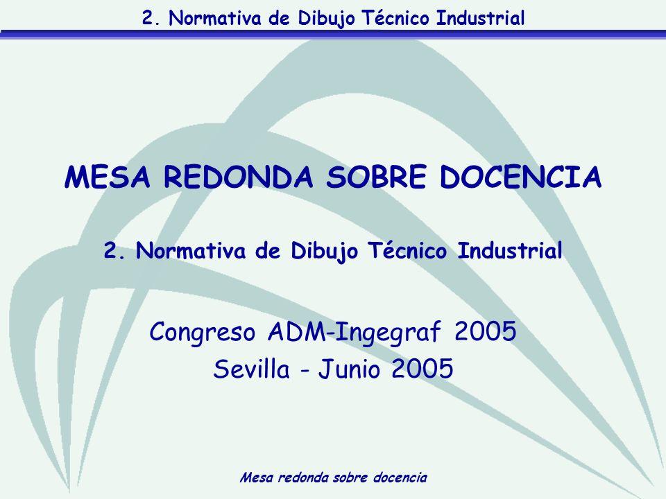2. Normativa de Dibujo Técnico Industrial