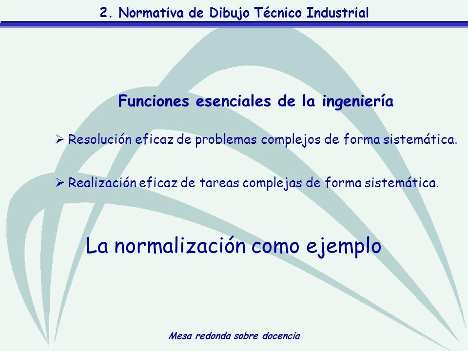 Funciones esenciales de la ingeniería