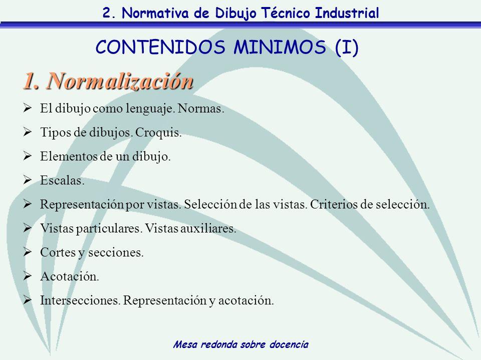 CONTENIDOS MINIMOS (I)
