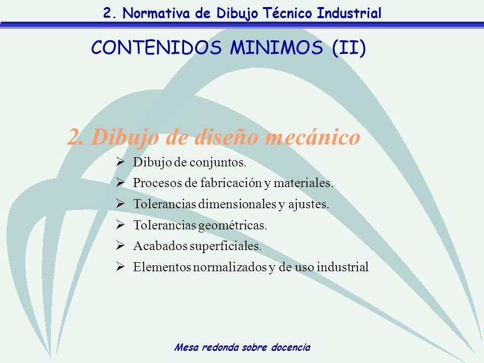 CONTENIDOS MINIMOS (II)