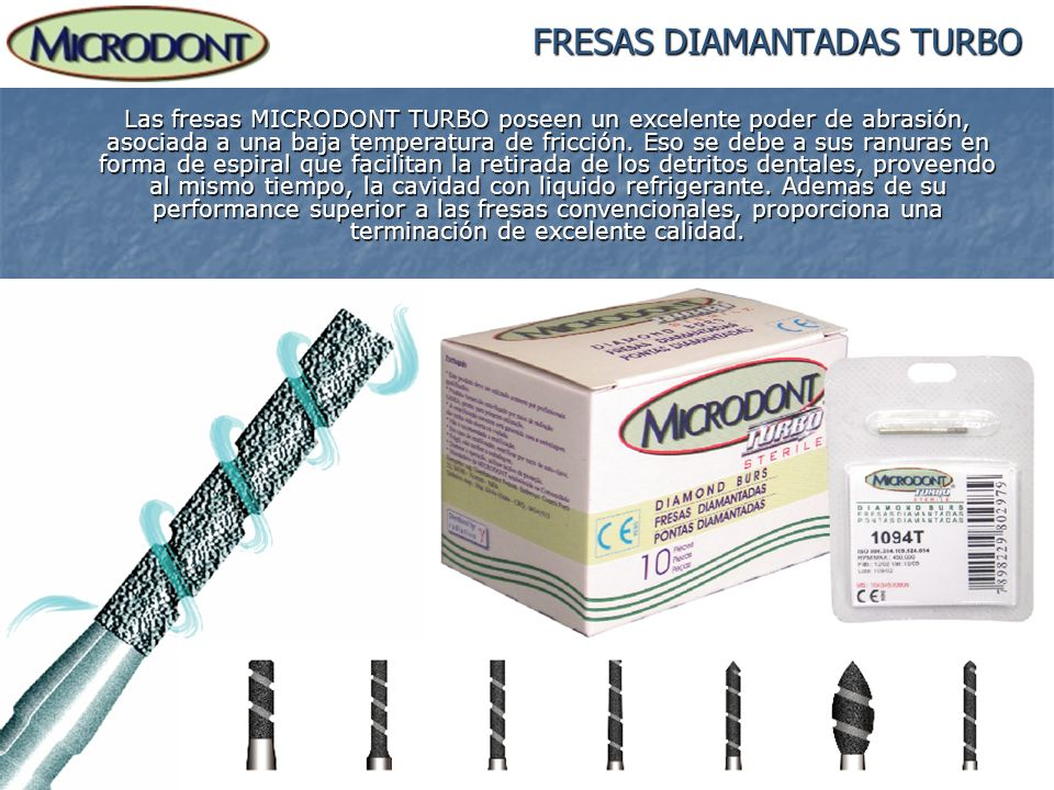 FRESAS DIAMANTADAS TURBO