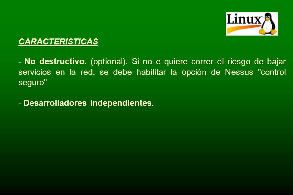 - Desarrolladores independientes.