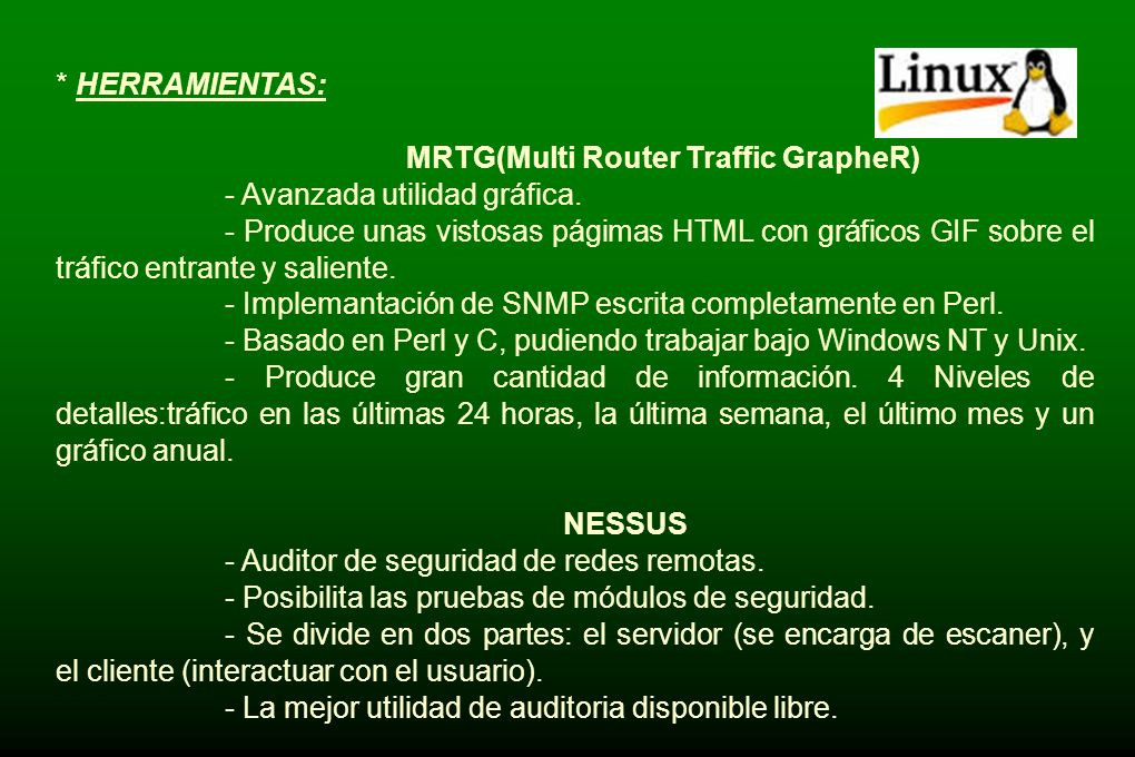 MRTG(Multi Router Traffic GrapheR)