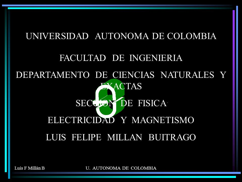 UNIVERSIDAD AUTONOMA DE COLOMBIA