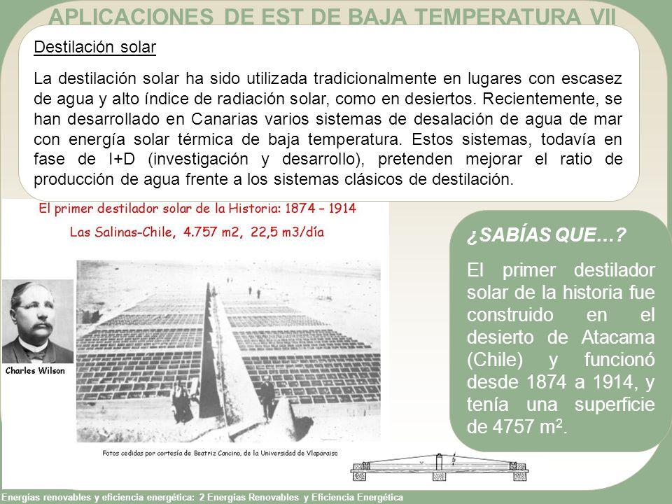 APLICACIONES DE EST DE BAJA TEMPERATURA VII