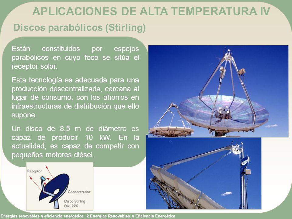 APLICACIONES DE ALTA TEMPERATURA IV
