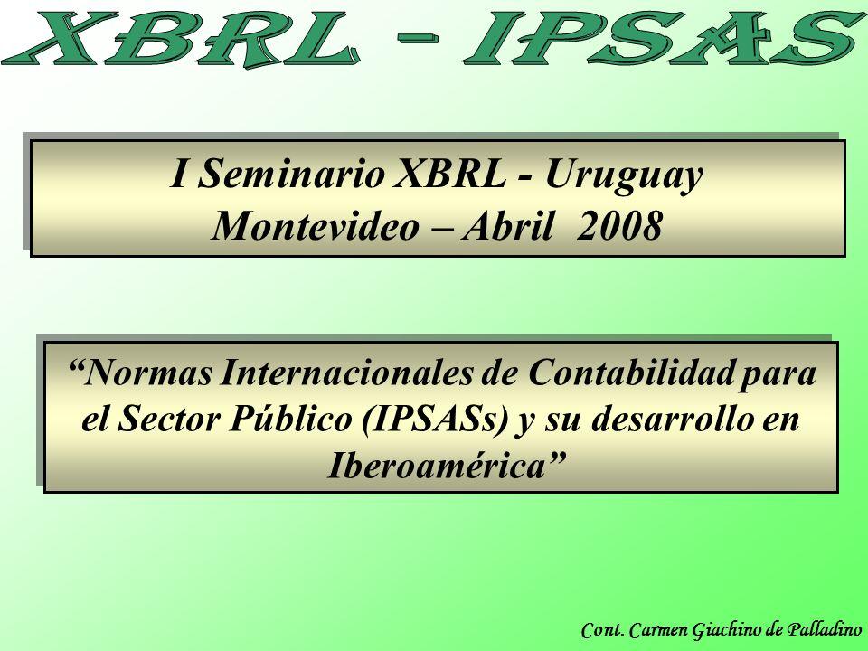 I Seminario XBRL - Uruguay