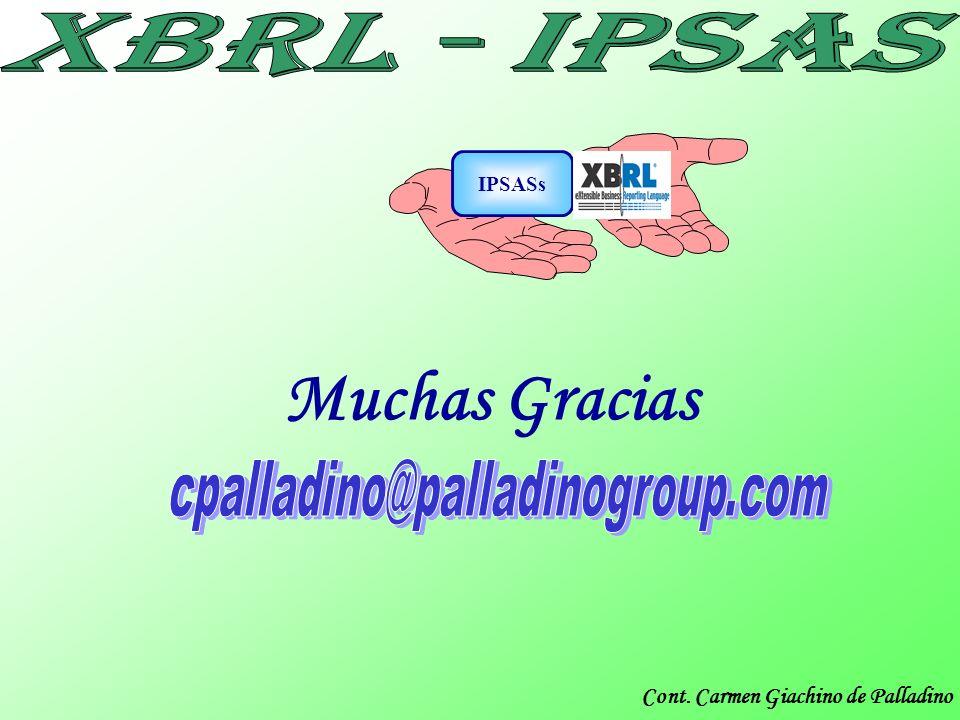 IPSASs Muchas Gracias cpalladino@palladinogroup.com