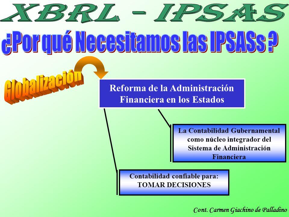 ¿Por qué Necesitamos las IPSASs