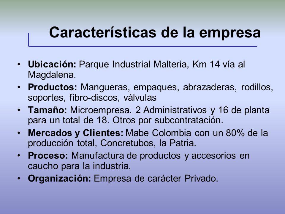 Características de la empresa