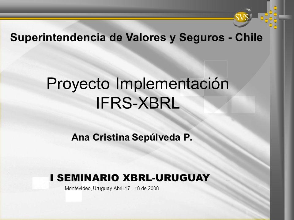 Proyecto Implementación IFRS-XBRL