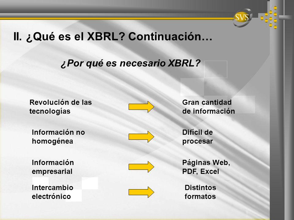 ¿Por qué es necesario XBRL
