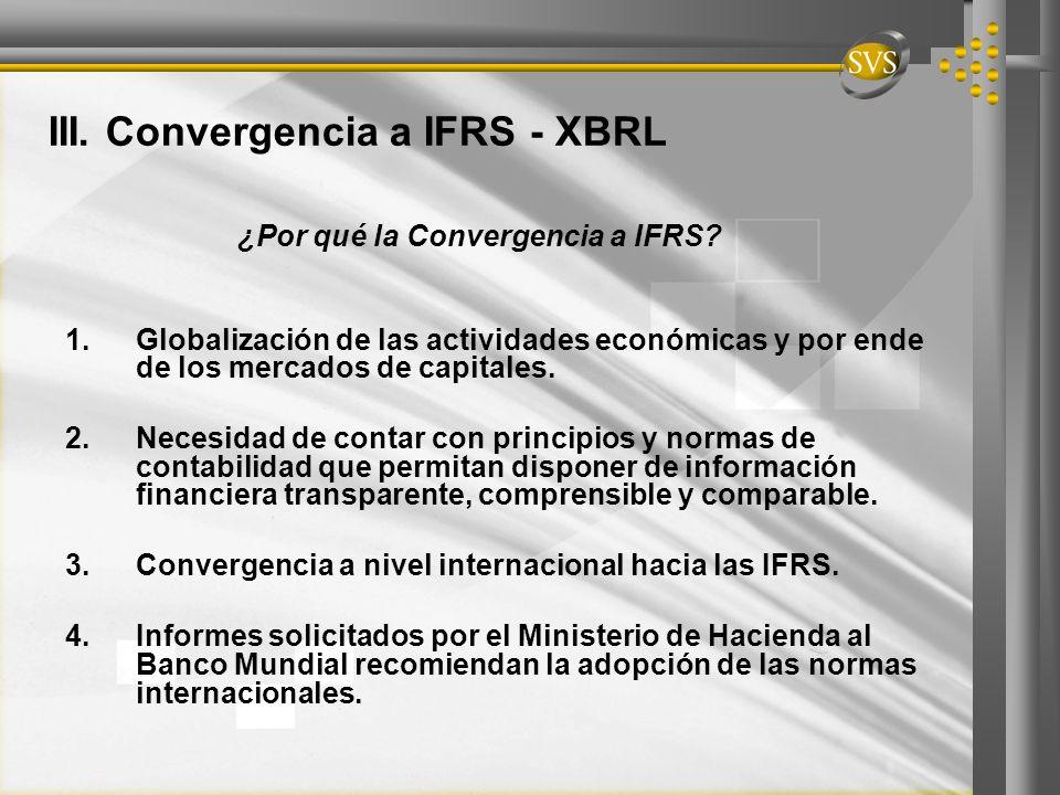 ¿Por qué la Convergencia a IFRS